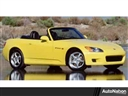 2001 Honda S2000 POWER PASSENGER SEAT CRUISE CONTROL POWER