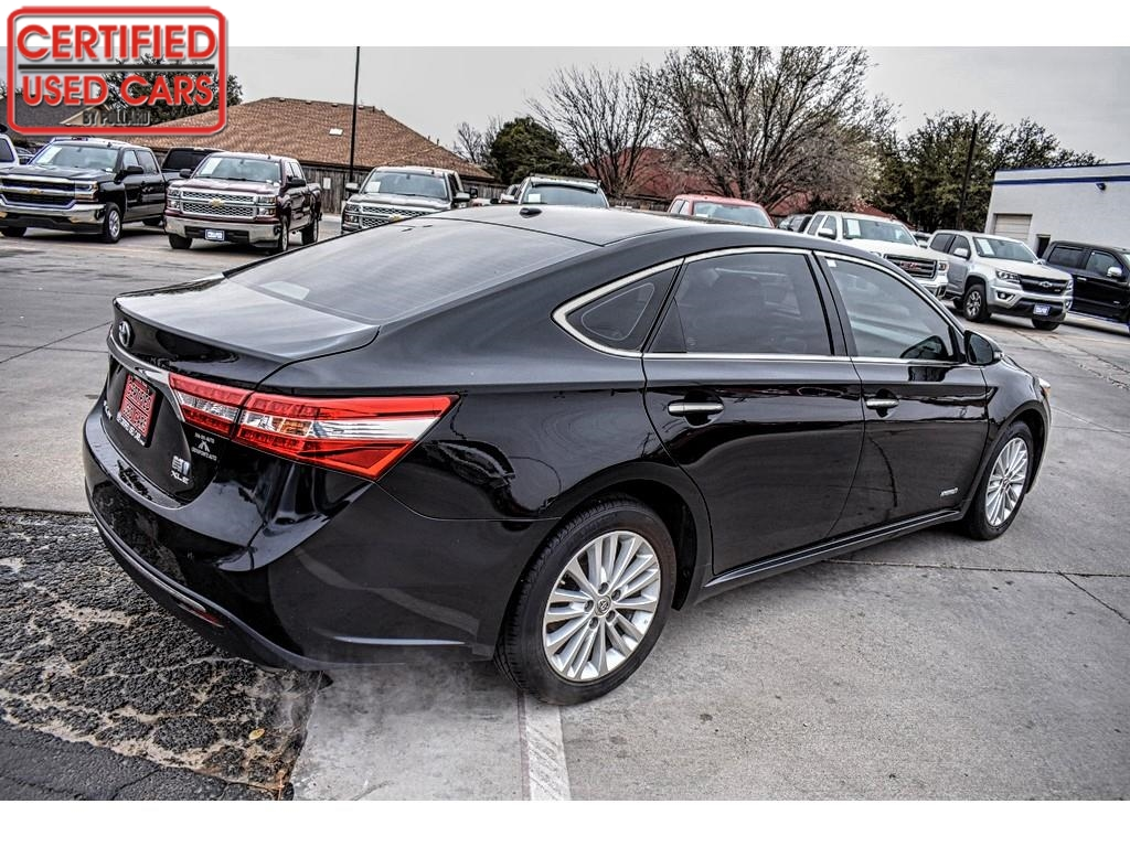 2015 Toyota Avalon Hybrid XLE Premium / Certified Used Cars of Lubbock / Lubbock / TX / 79423