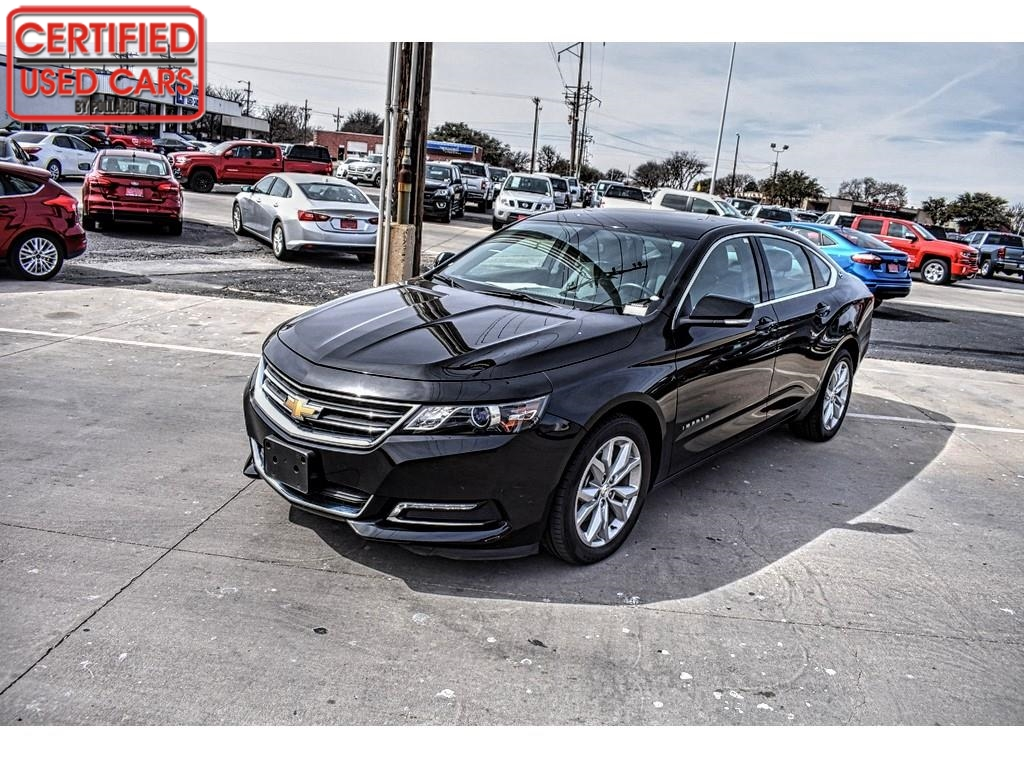 2018 Chevrolet Impala LT / Certified Used Cars of Lubbock / Lubbock / TX / 79423