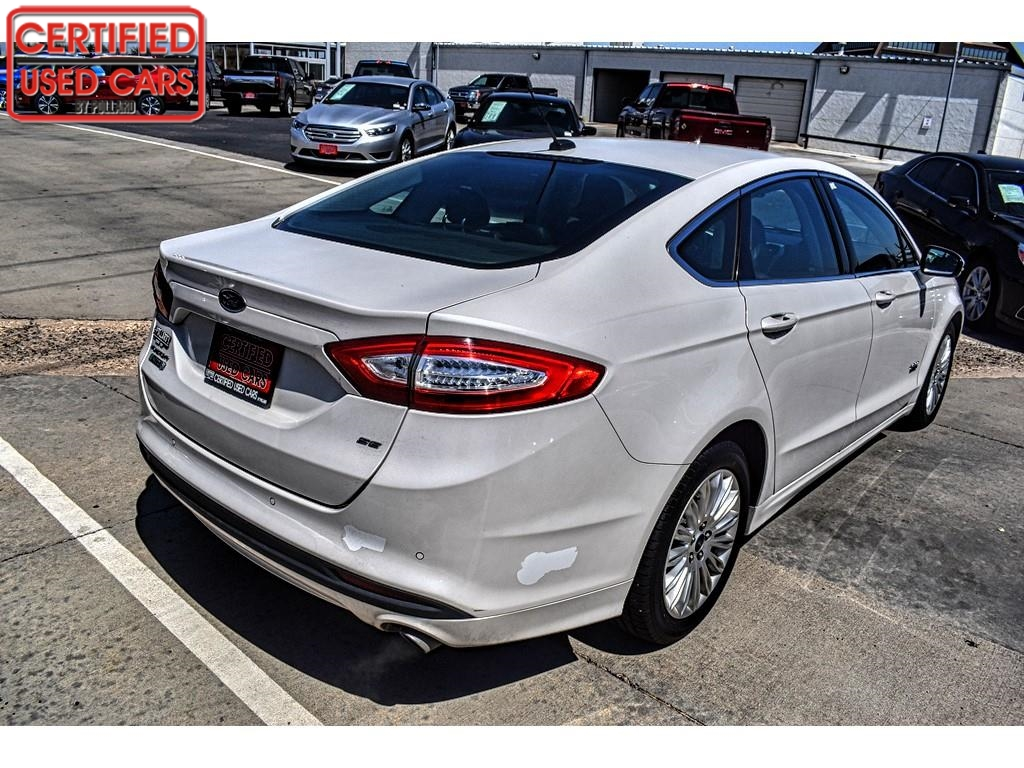 2016 Ford Fusion Energi SE Luxury / Certified Used Cars of Lubbock / Lubbock / TX / 79423