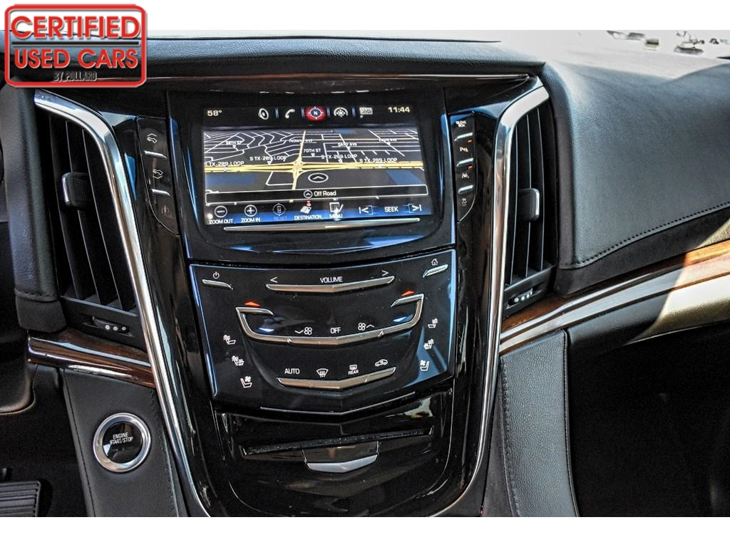 2016 Cadillac Escalade ESV Luxury Collection / Certified Used Cars of Lubbock / Lubbock / TX / 79423