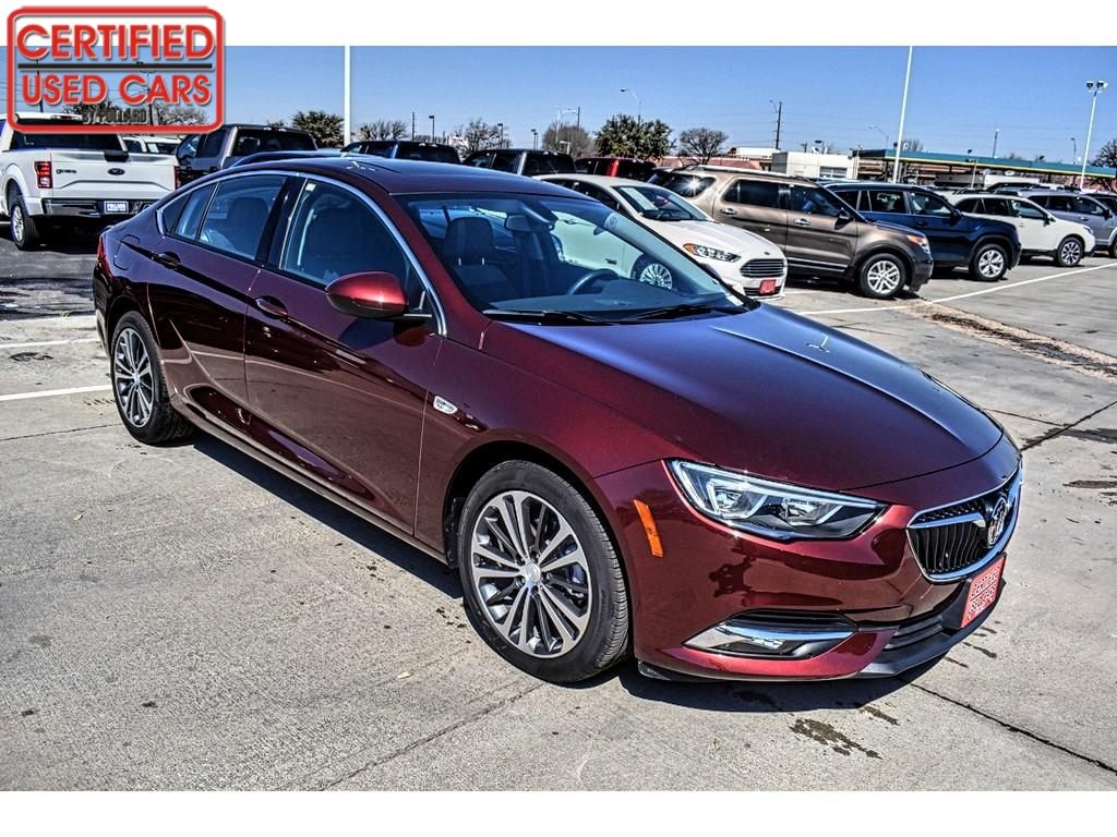 2018 Buick Regal Sportback Essence / Certified Used Cars of Lubbock / Lubbock / TX / 79423