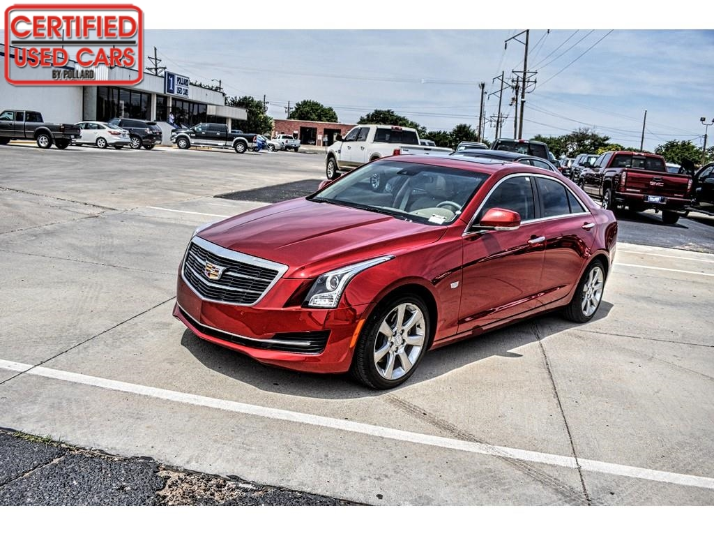 2016 Cadillac ATS Sedan Luxury Collection RWD / Certified Used Cars of Lubbock / Lubbock / TX / 79423