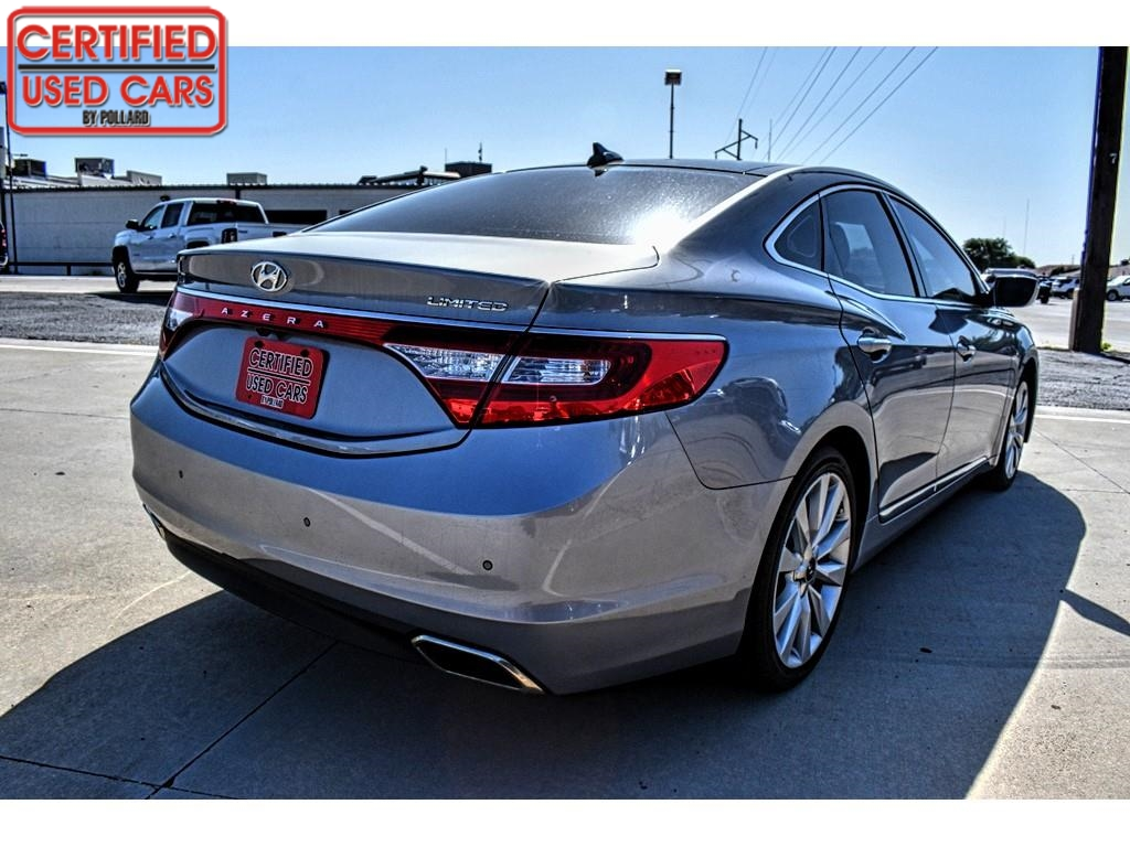 2017 Hyundai Azera Limited / Certified Used Cars of Lubbock / Lubbock / TX / 79423
