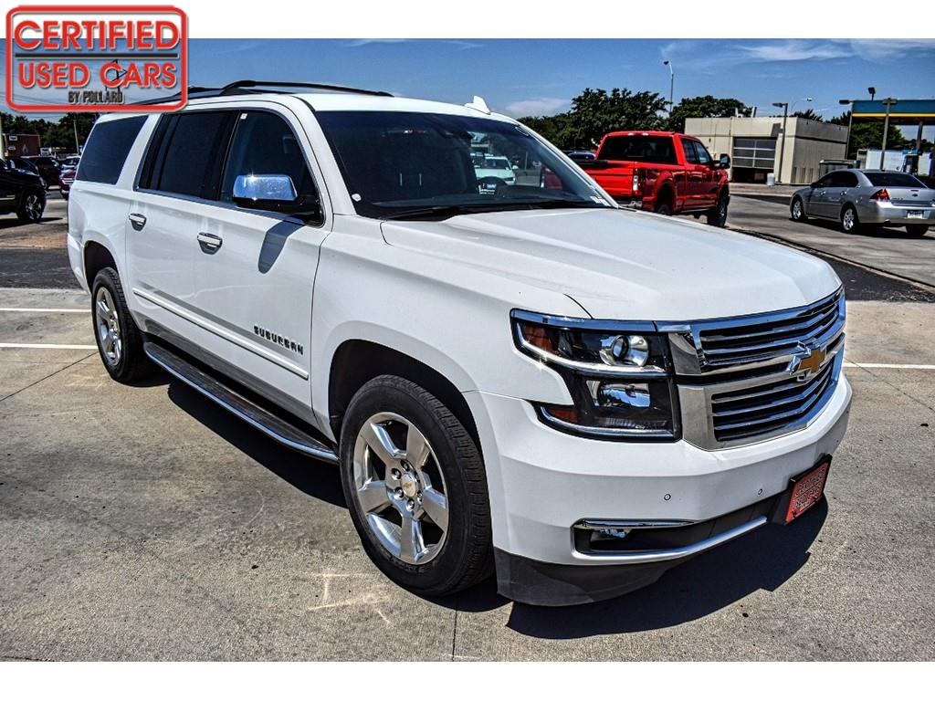 2018 Chevrolet Suburban Premier / Certified Used Cars of Lubbock / Lubbock / TX / 79423