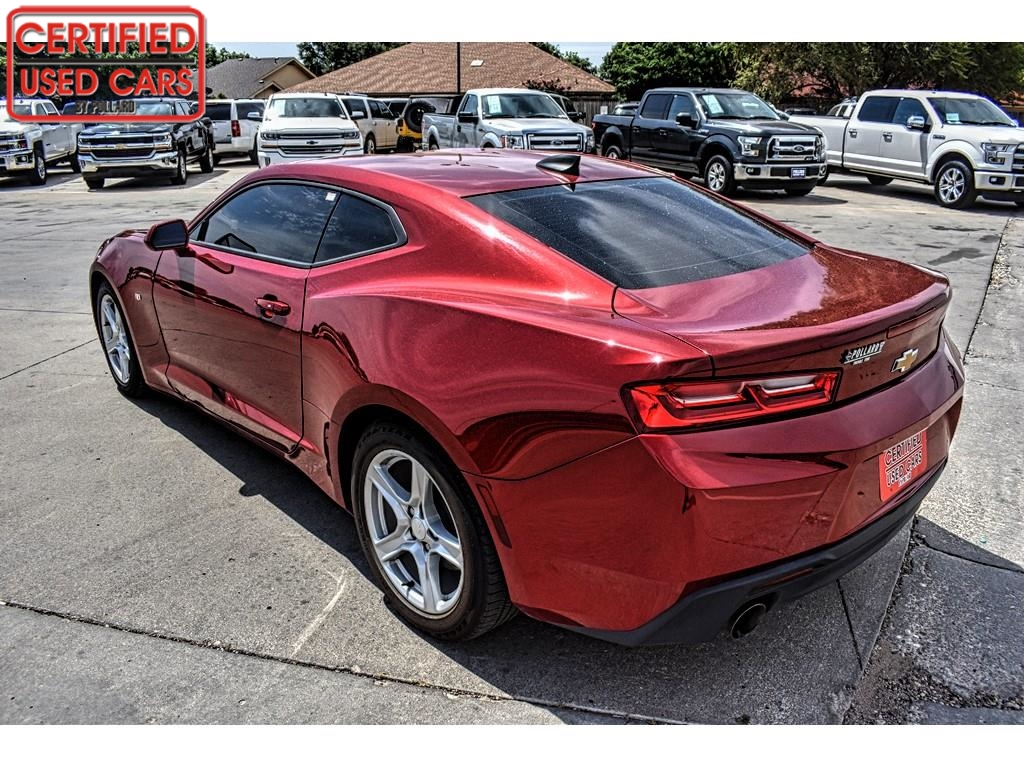 2018 Chevrolet Camaro 1LT / Certified Used Cars of Lubbock / Lubbock / TX / 79423