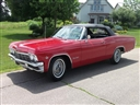 1965 Chevrolet IMPALA SS409 4-Speed True Numbers Matching Red
